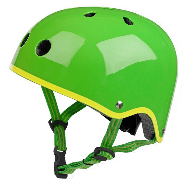 helmet green glossy_black_AC4492_AC4493_BUCKLE BLACK
